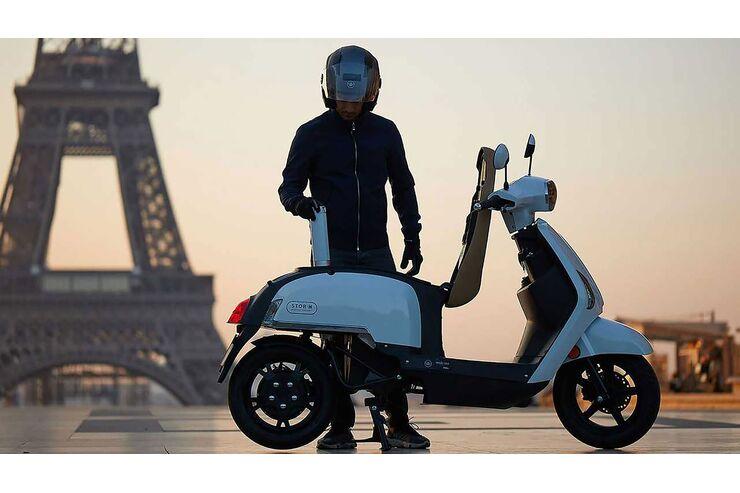 Mobi-Ion AM1 E-Roller: Die Kraft kommt aus der Brennstoffzelle