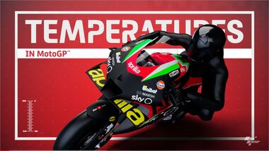 Moto GP Temperaturen