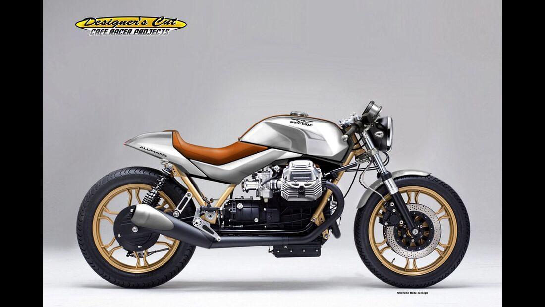 Moto Guzzi 1000 Alumans.