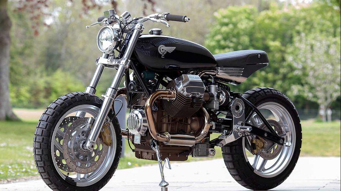 Moto Guzzi 1100 Sport Custombike Foundry