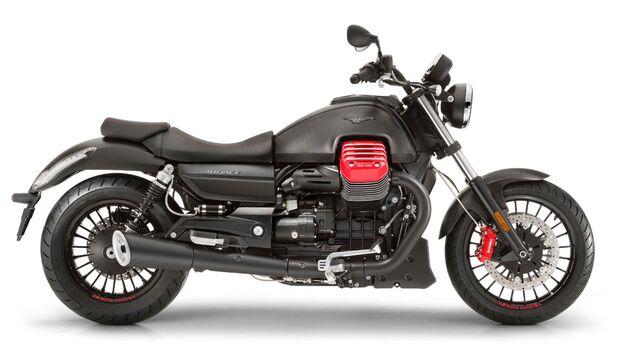 Moto Guzzi Audace Carbon.