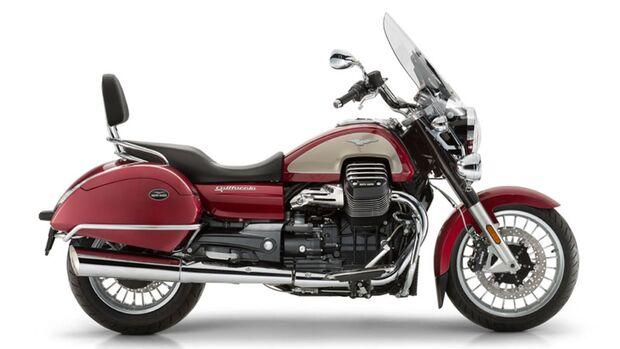 Moto Guzzi California 1400 Touring.