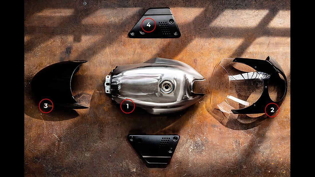 Moto Guzzi Sketch Bikes Schweiz V7 III