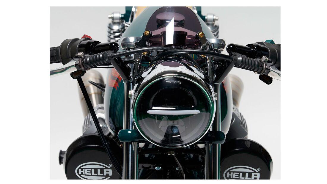 Moto Guzzi Umbau Beretta Deus Ex Machina