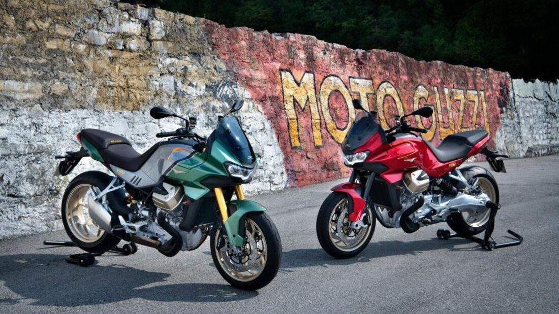 Moto Guzzi V100 2022
