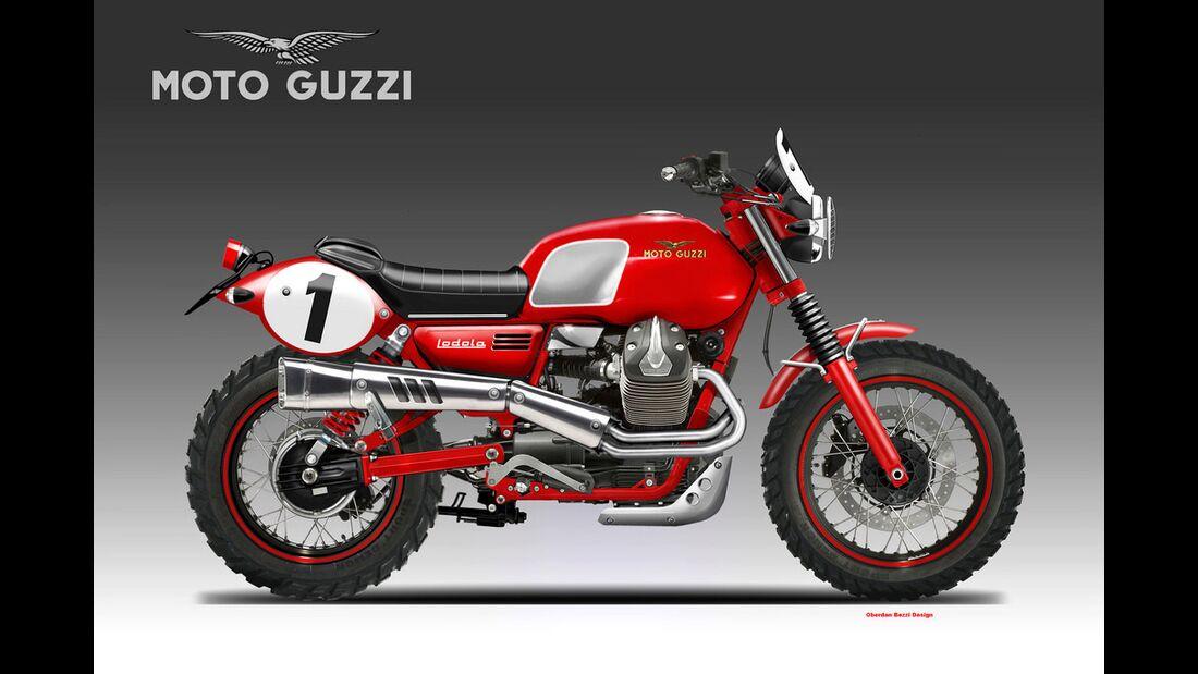 Moto Guzzi V7 Lodola Regolarita.