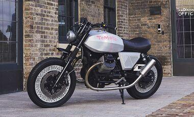 Moto Guzzi V7 Tomoto Tom Dixon