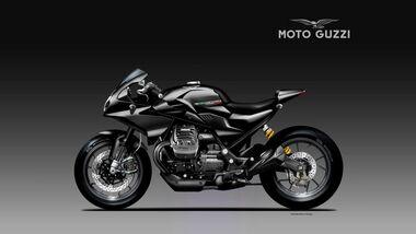 Moto Guzzi V85 Black Eagle von Oberdan Bezzi
