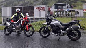 Moto Guzzi V85 TT im Dauertest.