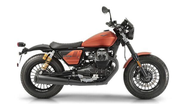 Moto Guzzi V9 Bobber Sport.