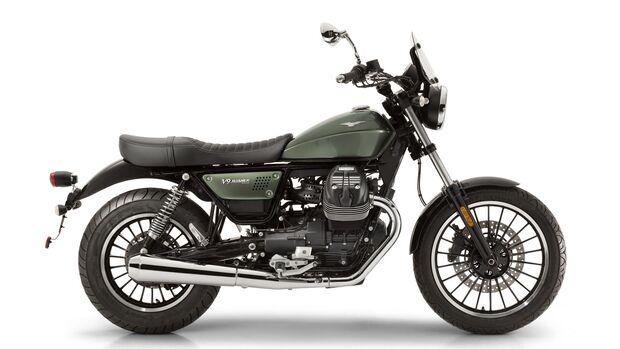 Moto Guzzi V9 Roamer.