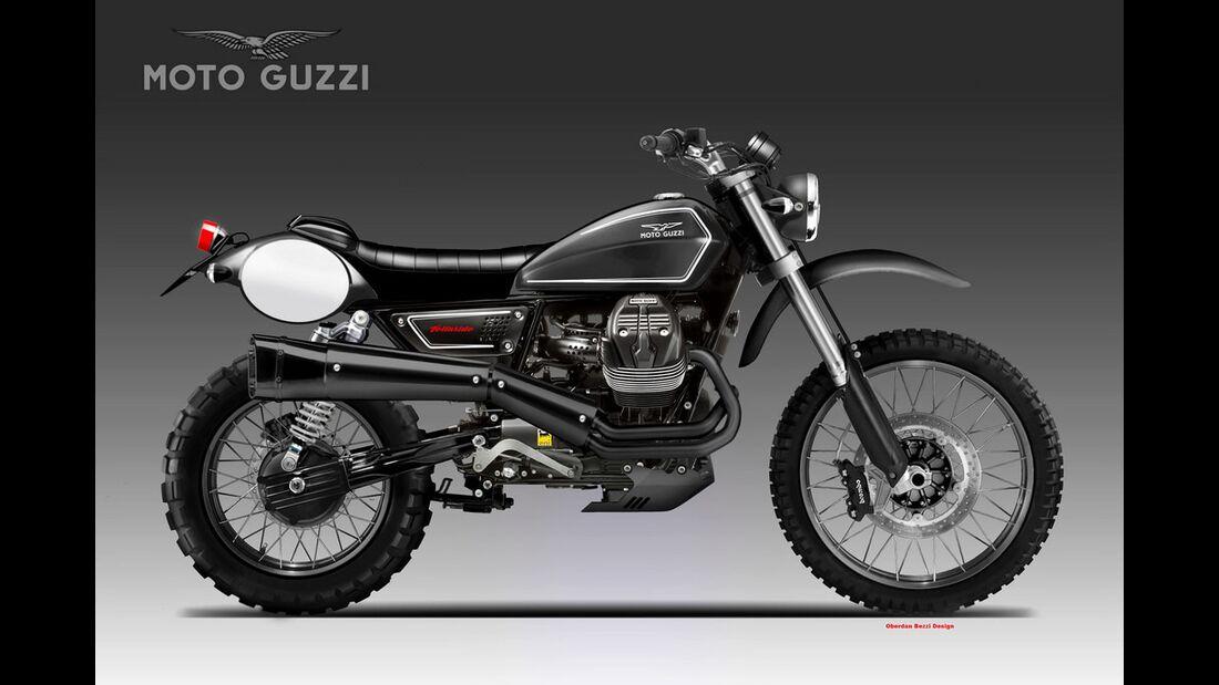 Moto Guzzi V9 Telluride.