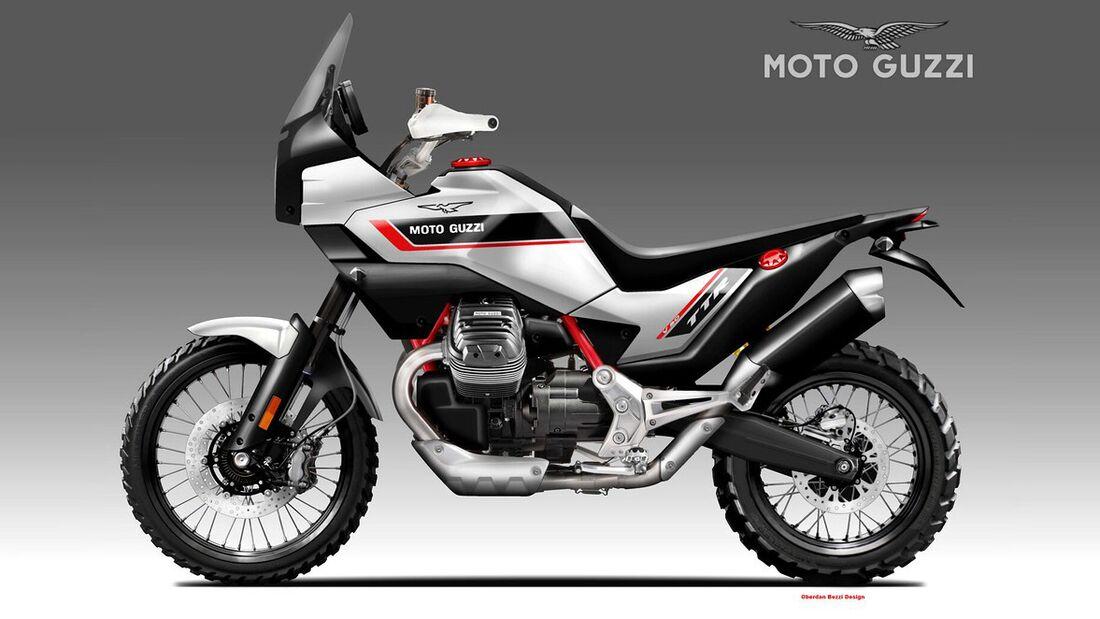 Moto Guzzi V90 TTR von Oberdan Bezzi.