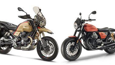 Moto Guzzi im Modelljahr 2020.