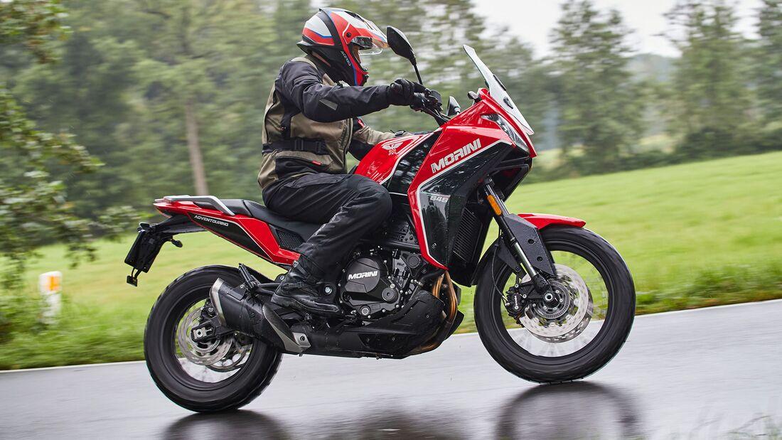 Moto Morini X-Cape Fahrbericht