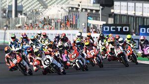 Moto3 Fahrerfeld