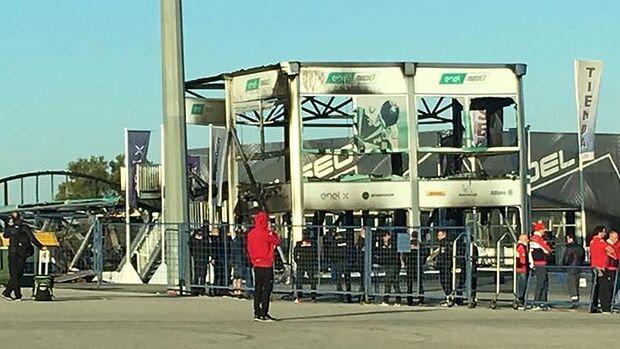 MotoE - Fabrik in Jerez abgebrannt