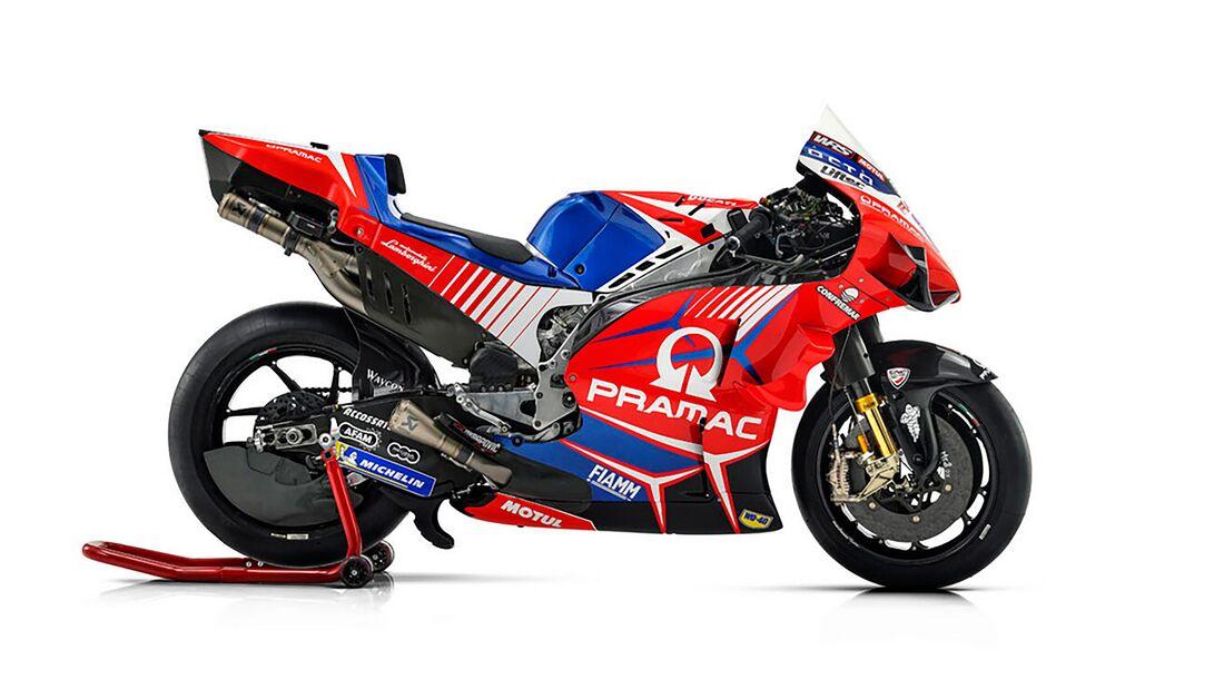 MotoGP 2021 Pramac Ducati