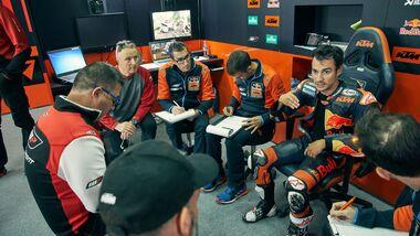 MotoGP-Test mit KTM 2019 Dani Pedrosa