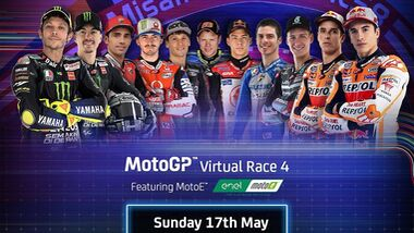 MotoGP Virtual Race 4 in Misano.