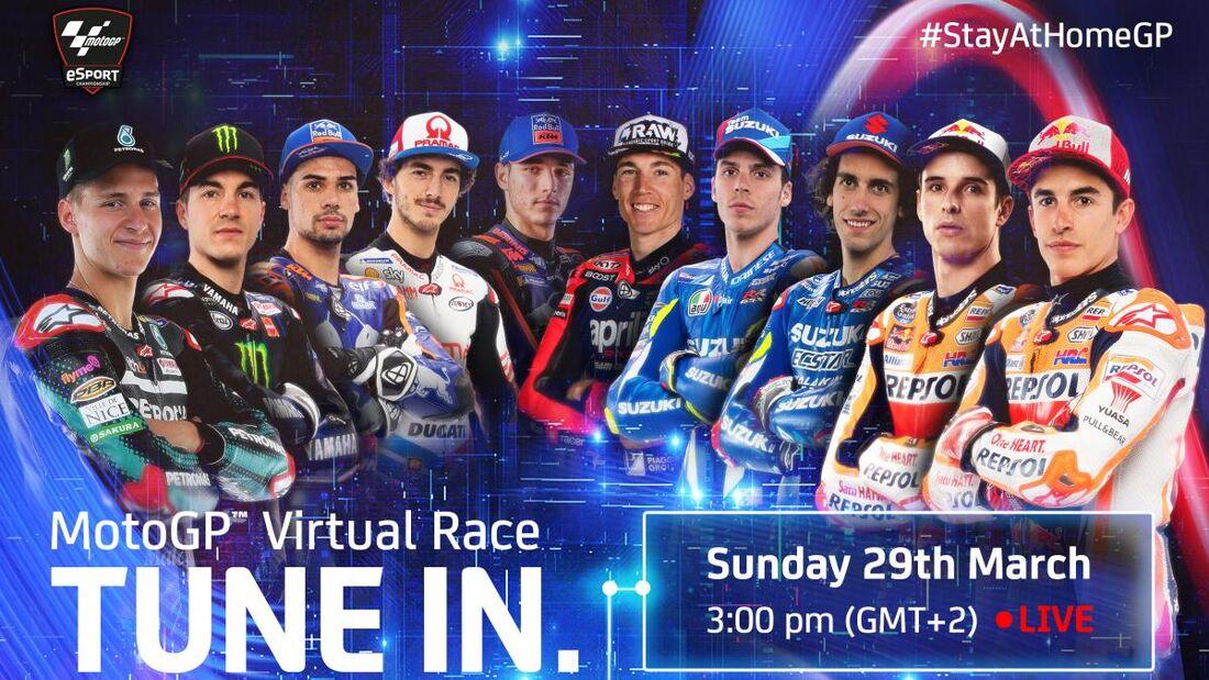 MotoGP - Virtuelles Rennen 2020.