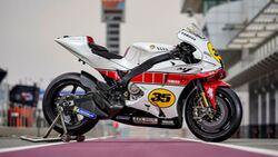 MotoGP Yamaha YZR-M1 60 Jahre Sonderlackierung Cal Crutchlow