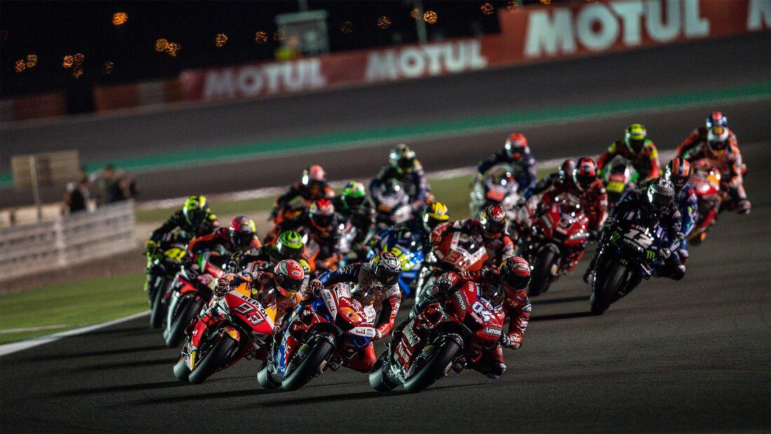 MotoGP in Katar (2019).