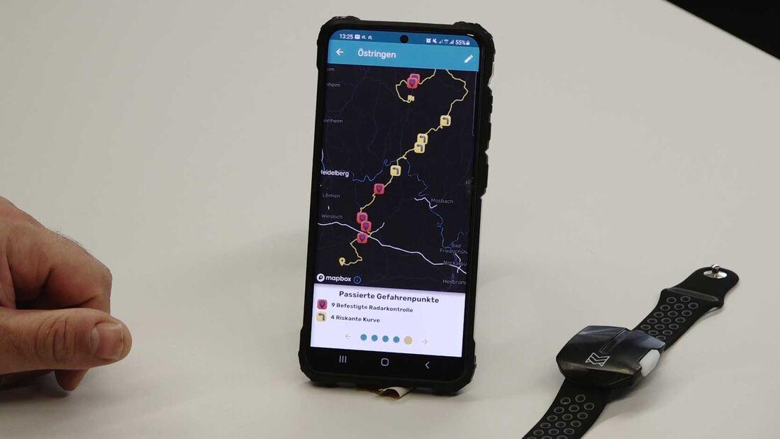 Motobit App und Sentinel ausprobiert