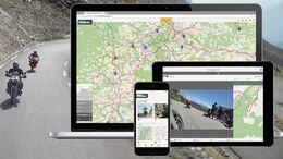Motocompano - Tourenplaner- und Navigations-App.
