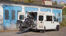 Motoloader Ladesystem für Motorräder