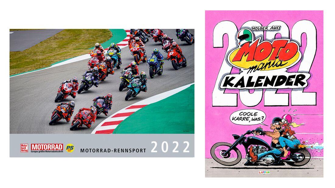 Motomania Kalender 2022 und MotoGP Kalender 2022