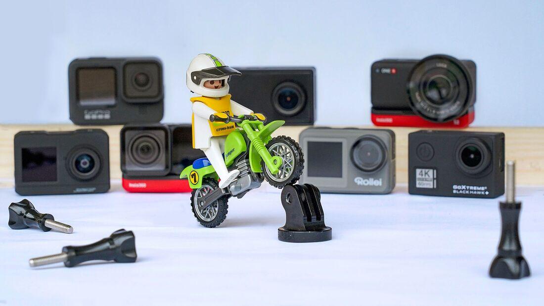Motorrad Actioncam Dashcam Test Vergleich