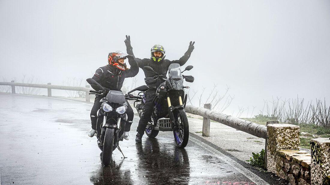 Motorrad-Allroundhandschuhe Test