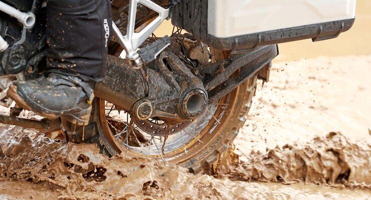 Motorrad Enduroreifen-Test 2019