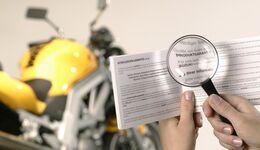 Motorrad Garantie