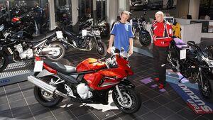 Motorrad Händler Verkauf
