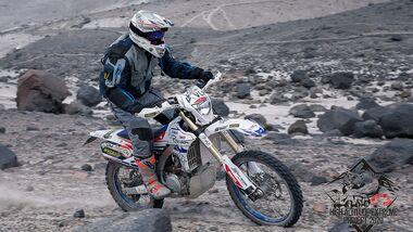 Motorrad Höhenweltrekord