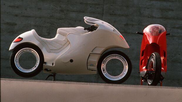 Motorrad Konzept Orbitalrad Franco Sbarro