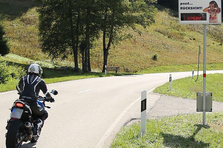 Gegen Motorradlärm: Baden-Württemberg mit landesweiter Initiative