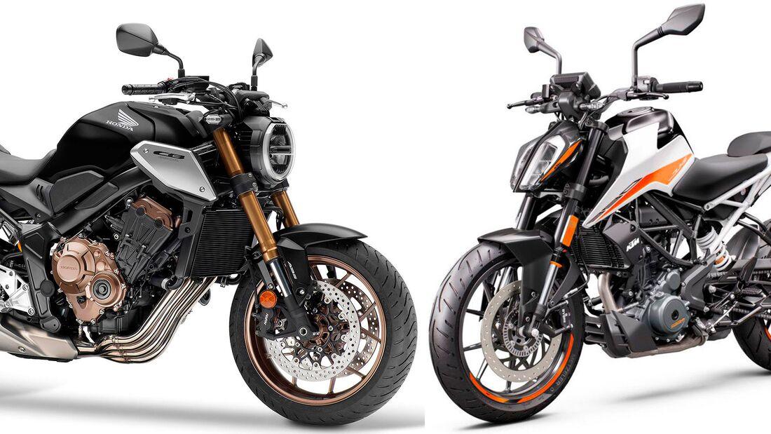 Motorrad-Neuzulassungen April 2021