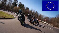 Motorrad-Neuzulassungen Europa 1. Halbjahr 2021