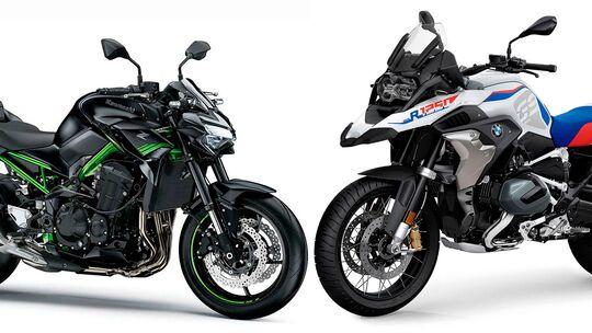 Motorrad-Neuzulassungen Gesamtjahr 2020