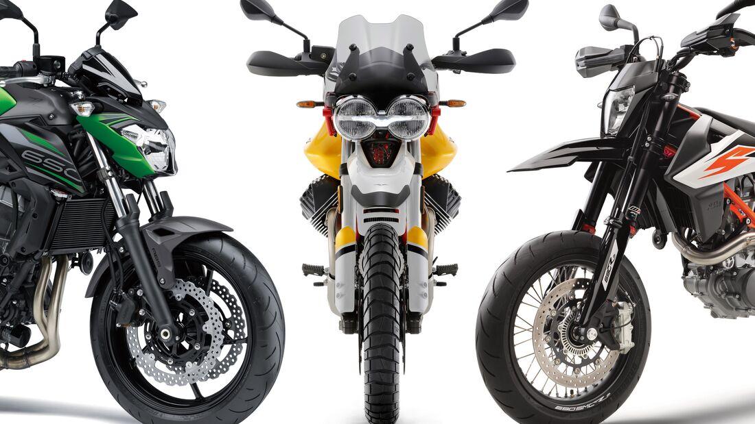 Motorrad-Neuzulassungen im Juli 2019