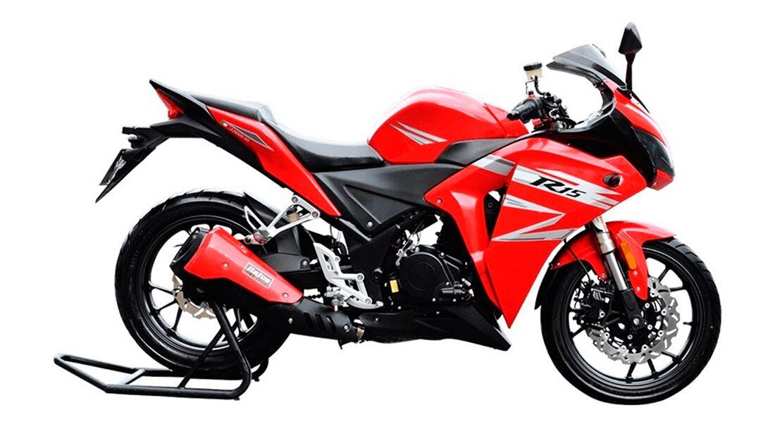 Motorrad-Plagiate aus China