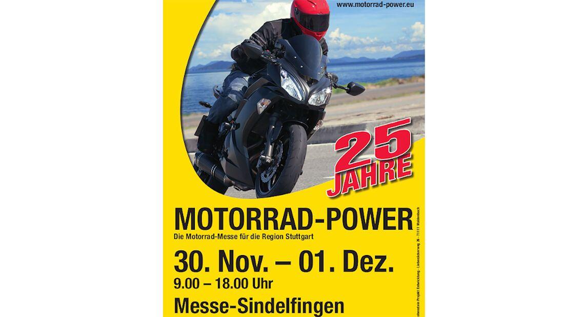 Motorrad-Power Sindelfingen Plakat 2019