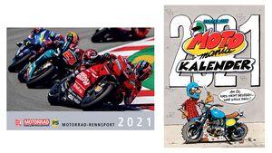 Motorrad-Rennsport-Kalender 2021 Teaser