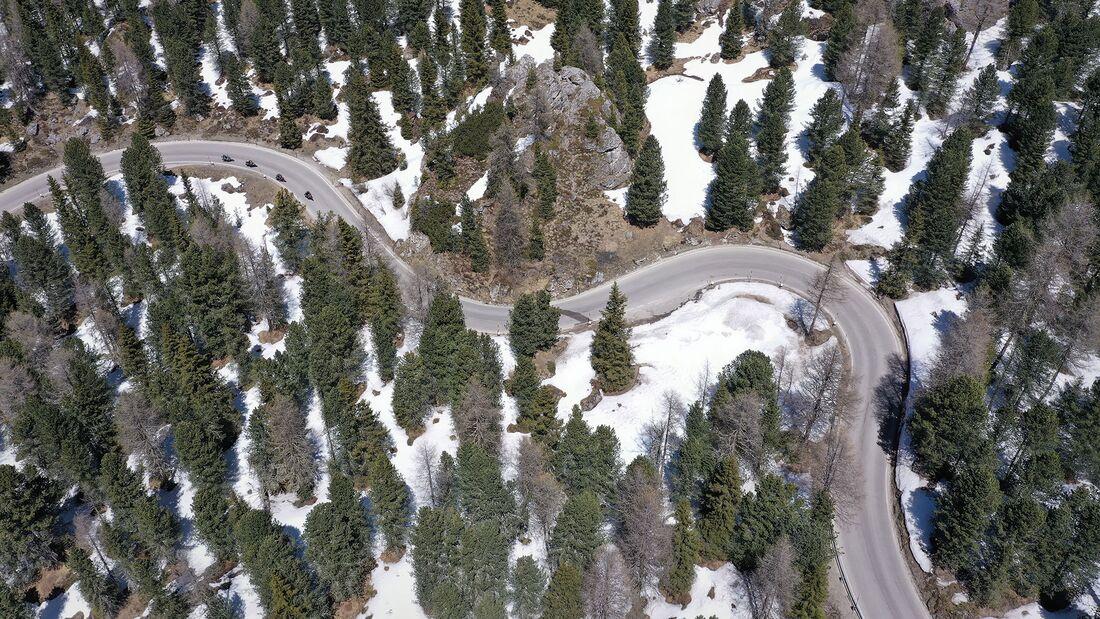 Motorradfahren in den Dolomiten Tipps