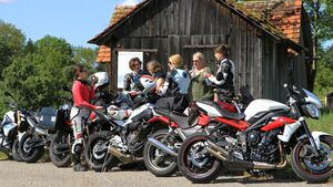 Motorradfahrerinnen Frauen Neuzulassungen