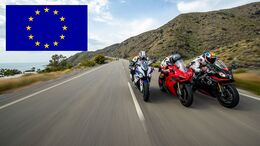 Motorradmarkt Europa Neuzulassungen