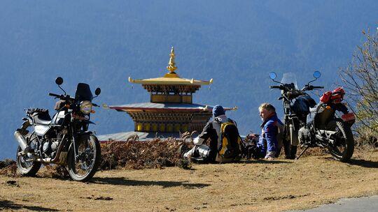 Motorradreise Buthan